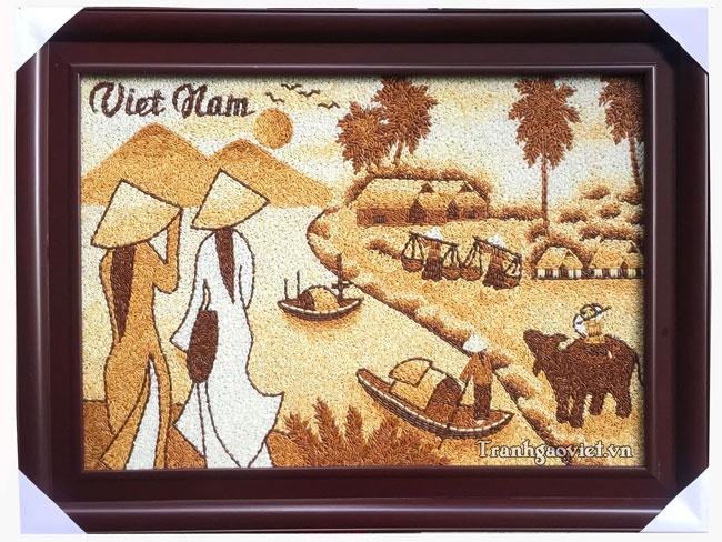 Cô gái áo dài Việt nam TPC017