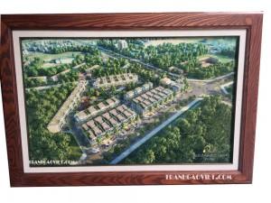 Tranh khu đô thị Hưng Lộc Home