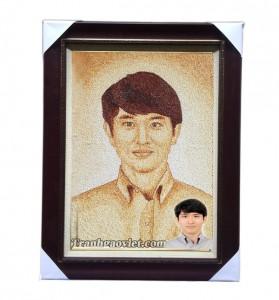 Quà tặng người Hàn- Tranh gạo chân dung
