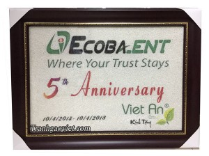 Quà tặng đối tác logo Ecobank